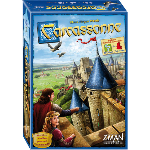 Carcassonne Game, New Edition