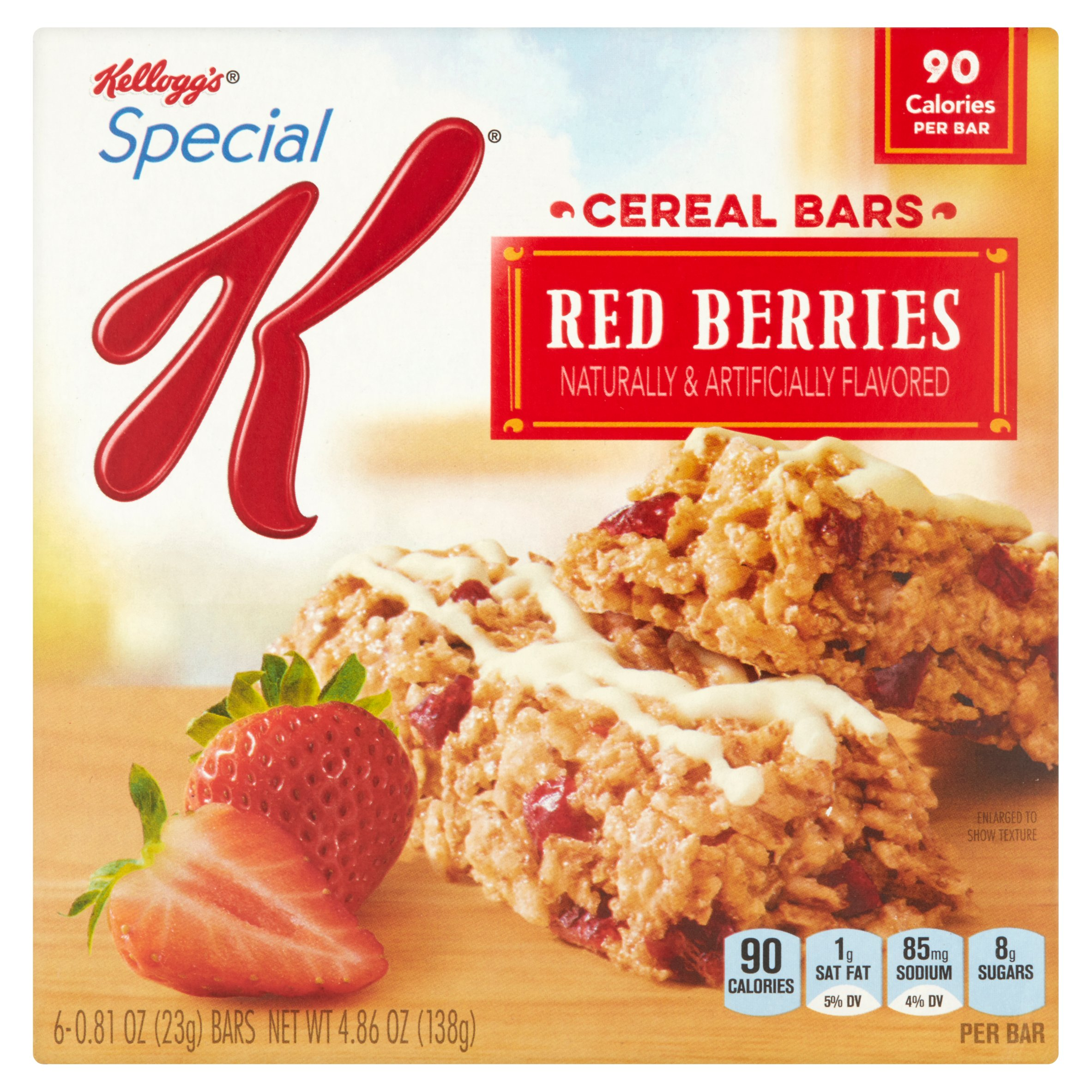 Kellogg's Special K Strawberry Bars, 4.86 oz