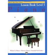Alfred's Basic Piano Library: Piano Lesson Book Le