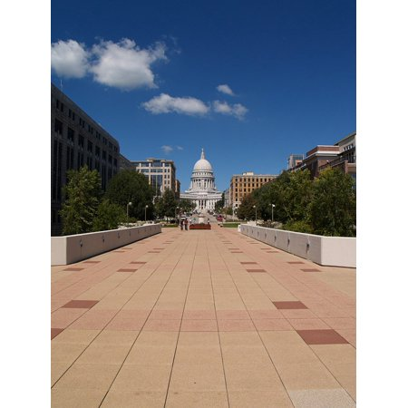 Canvas Print Capitol Government Dome Building Architecture Stretched Canvas 10 x -