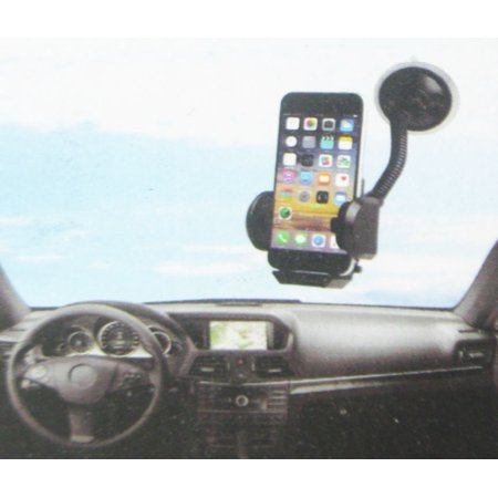 LAX-MAX Universal Car Dashboard Mount Phone/GPS Holder with Adjustable Grip