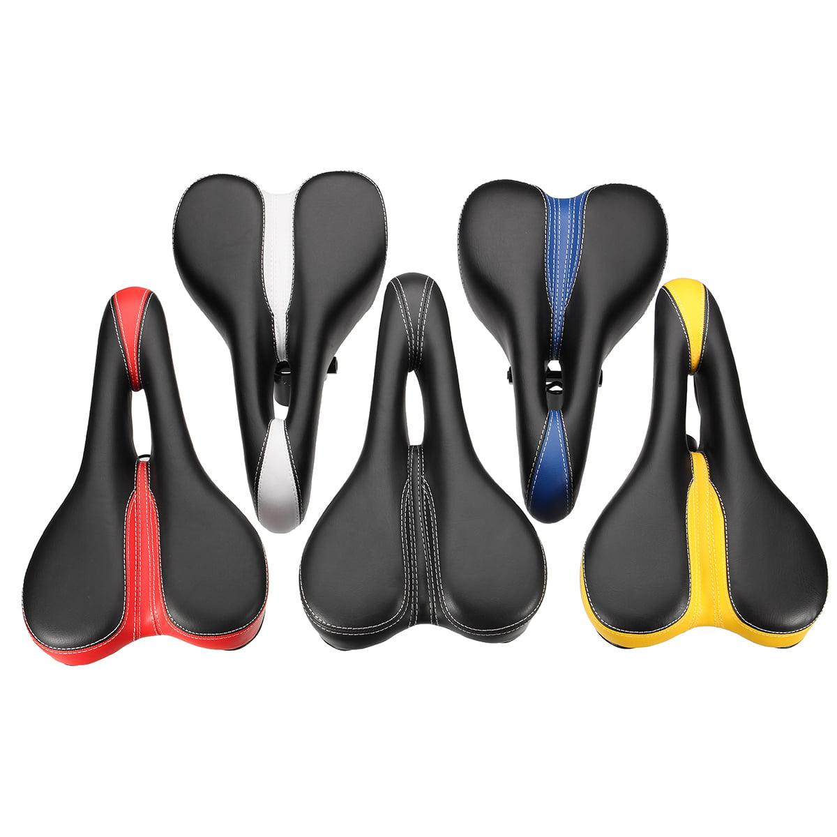 Soft Mountain Bike Cycle Gel Pad Comfort Bicycle Leather Saddle Seat Cushion YF- 1032