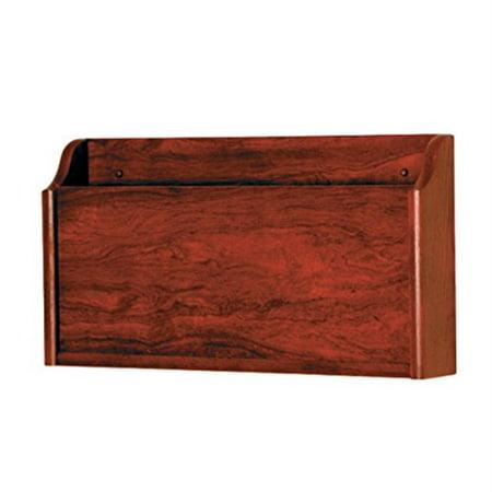 - Wooden Mallet X-Ray Wall Pocket, Mahogany