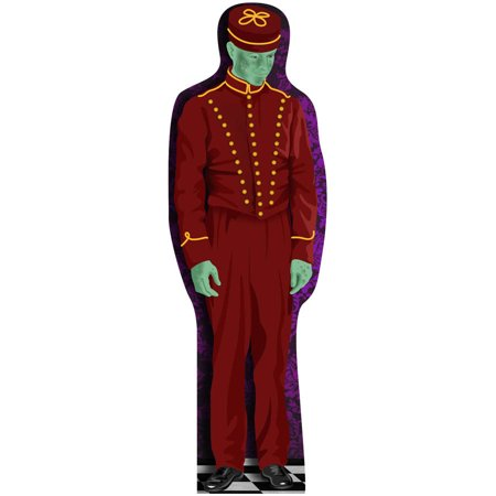 Haunted Hotel Bell Hop Standee Halloween Decoration](Halloween Haunted Forest)