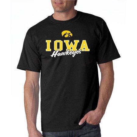 University of iowa hawkeyes campus script 100 cotton t for University of iowa shirts