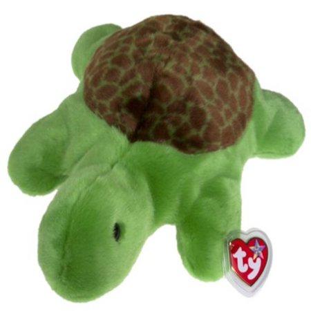 Speedy Turtle - TY Beanie Buddy - SPEEDY the Turtle