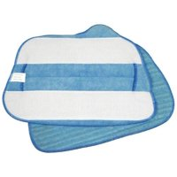 SteamFast Replacement Microfiber Cloths for Steam Mop 2-Pads Per Pack