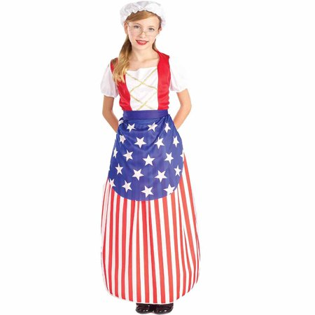 Betsy Ross Heroes In History Child Halloween Costume for $<!---->