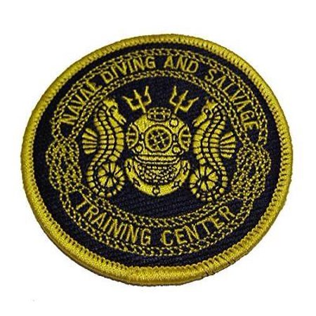 USN NAVAL DIVING AND SALVAGE TRAINING CENTER PATCH PANAMA CITY BEACH FL