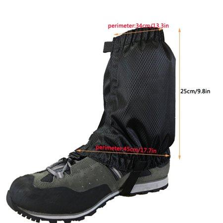 Outdoor Waterproof Climbing Hiking Ski Shoes Cover Boot Legging