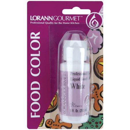 Liquid Food Color 1 Ounce-White - Walmart.com