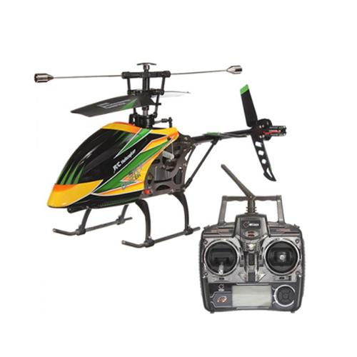 """16"""" V912 Large Metal Gyro RC Helicopter - Yellow"""
