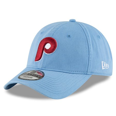Philadelphia Phillies New Era Cooperstown Collection Core 49FORTY Fitted Hat - Light Blue