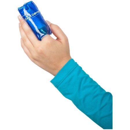 Relief Pak Finger Hot Cold Donut Roll-on Compression Sleeve