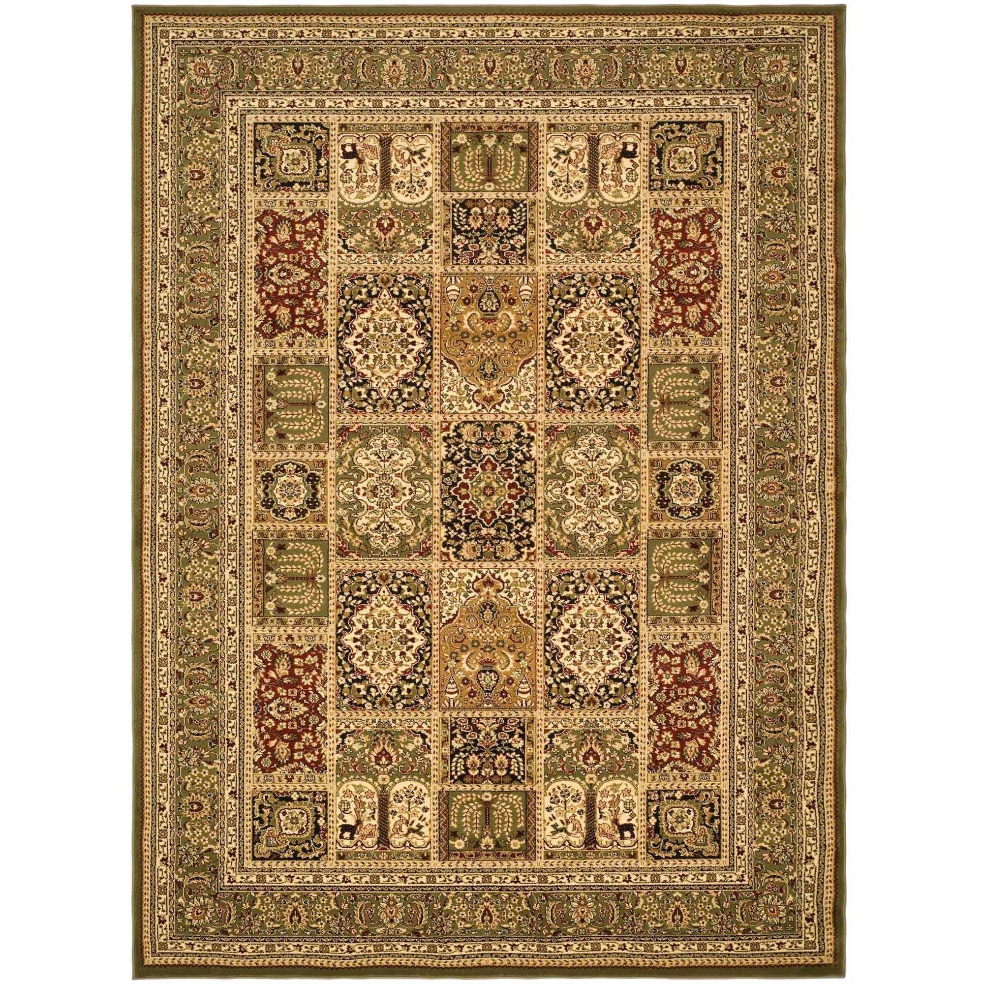 Safavieh Lyndhurst Panel Rectangular Area Rug, Green
