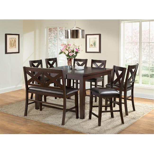 Vilo home VH2400 Xander Butterfly Leaf Pub Table