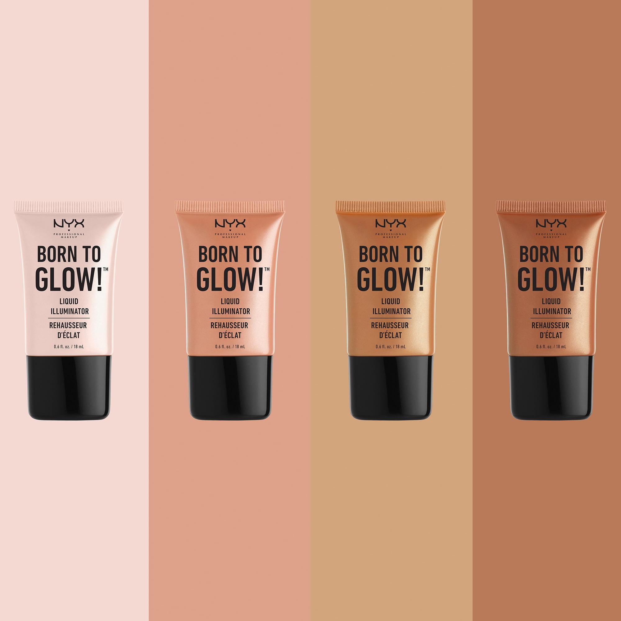 Nyx Professional Makeup Born To Glow Liquid Illuminator Gleam Walmart Com Walmart Com