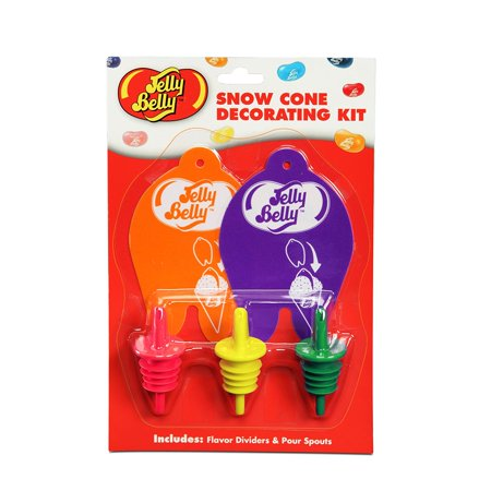 West Bend Timer - Jelly Belly Decorating Kit, Mini, Two flavor dividers for creating striped snow cones By West Bend