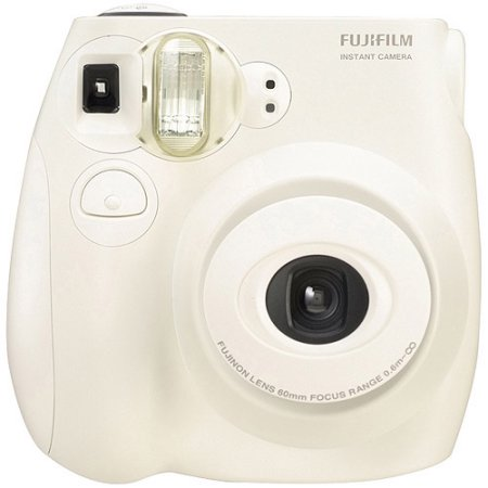 fujifilm instax mini 7s instant camera (with 10-pack film) - white ...