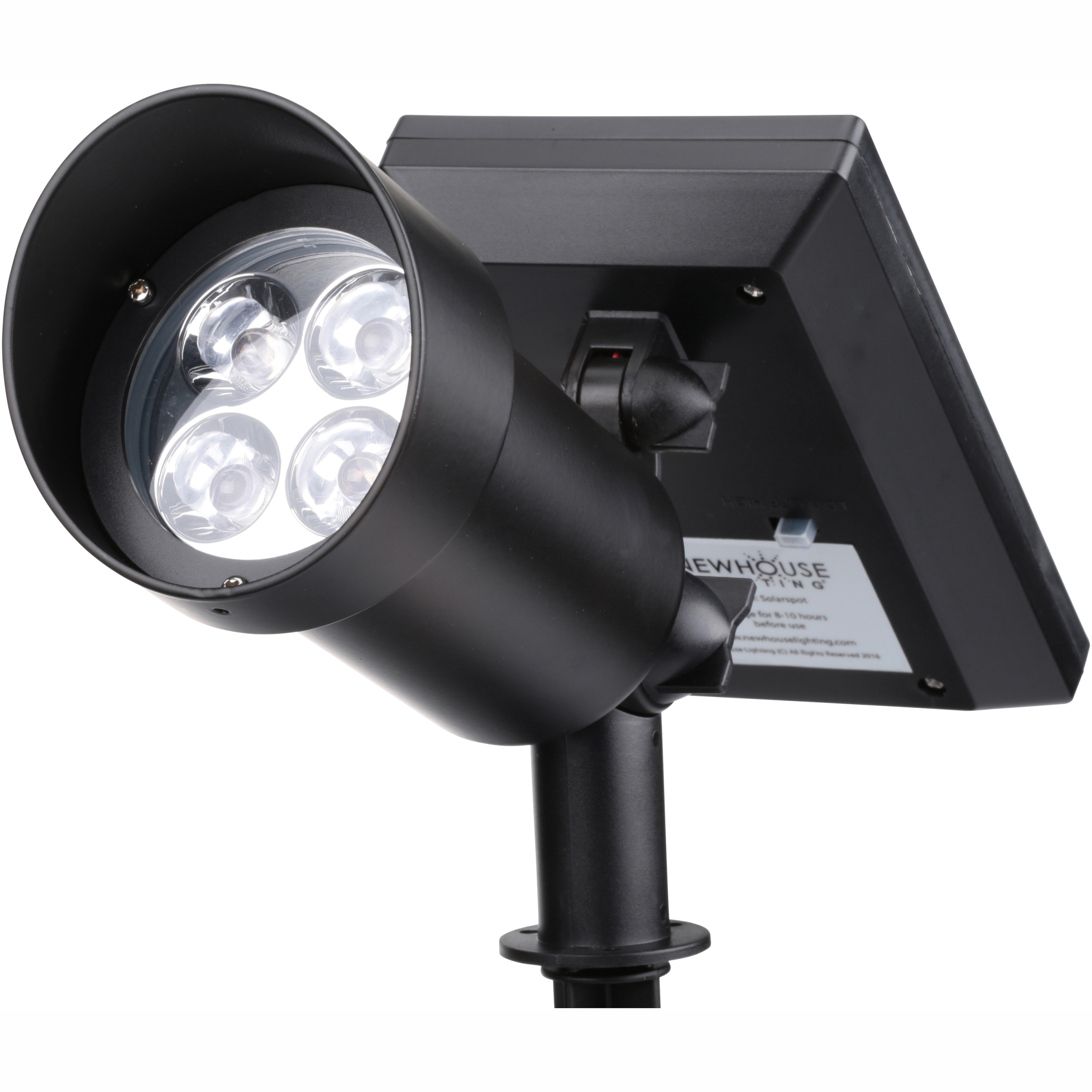 Newhouse Lighting Led Hi-Power Solar Spotlight Light by Newhouse Lighting