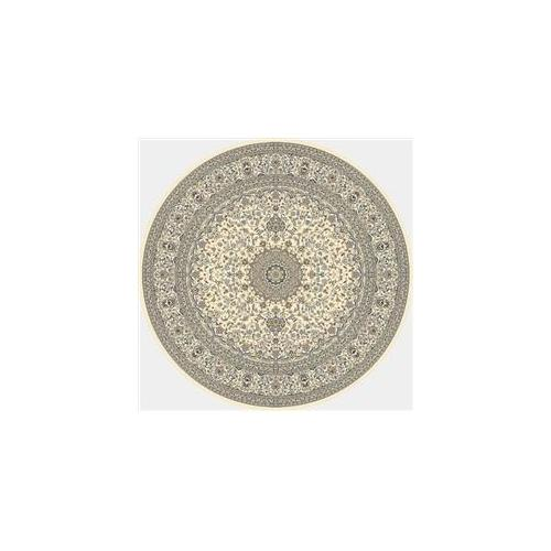 Dynamic Rugs ANR8571196464 Ancient Garden 7. 10 Round 57119-6464 Rug - Ivory/Ivory
