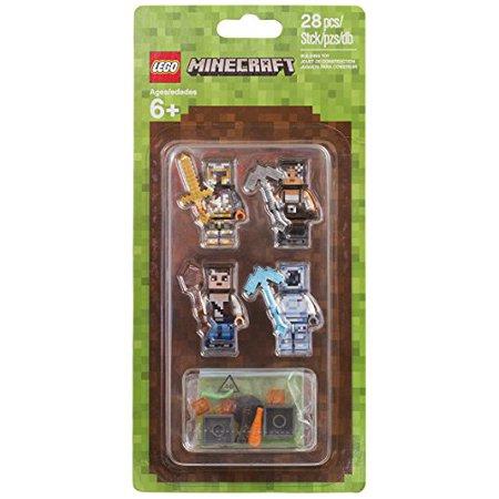 Lego Minecraft Minecraft Skin Pack 2 853610 Buildinig Kit  28 Piece
