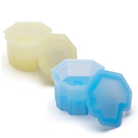 Mono 3-D Savanna Ice Silicone Lion & Hippopotamus Ice Cube Mold Set (Mono Mold)