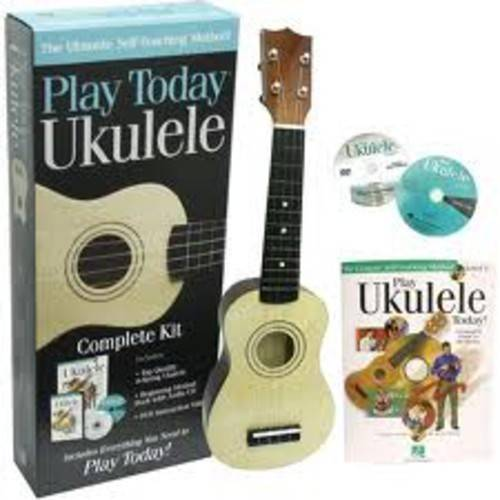 Play Ukulele Today! Complete Kit by Hal Leonard Publishing