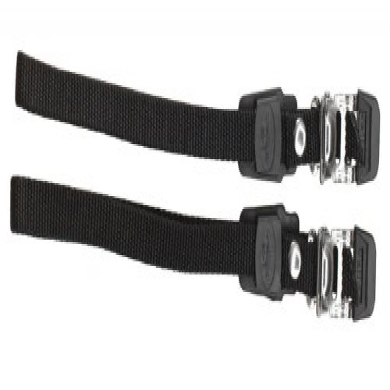 Avenir Toe Straps, Black, Universal Size
