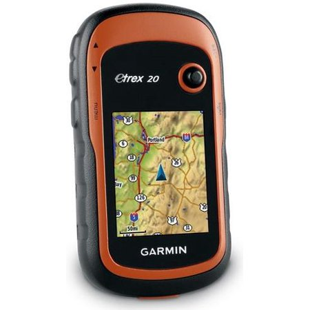 Garmin eTrex 20 Waterproof Handheld GPS Receiver W/ 2.2 65K TFT Display
