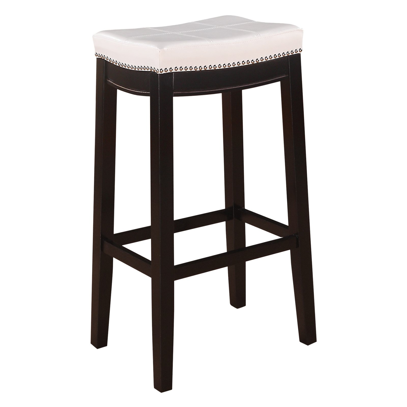 Linon Claridge Patches Bar Stool Mutliple Colors 32 Inch