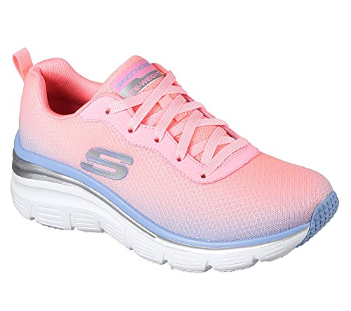 Skechers Fashion Fit Build up Womens Sneakers Pink/Lavender 8