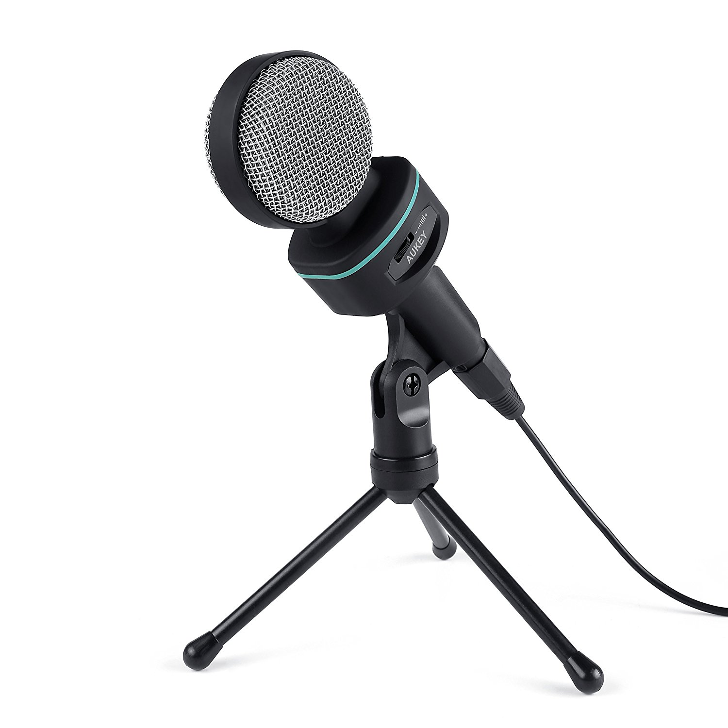 AUKEY Condenser Microphone, Bidirectional Condenser Mic with XLR Female to 3.5mm Male... by Generic