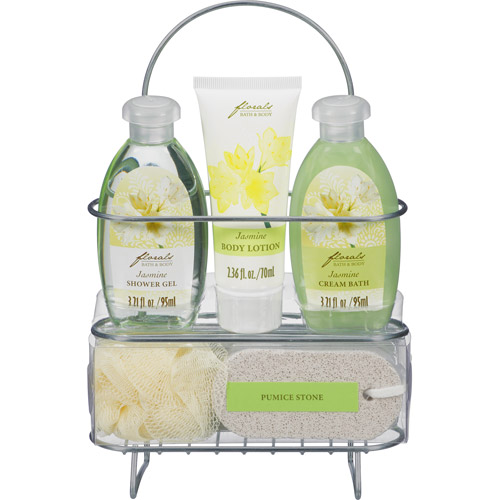 Florals Bath & Body 5-Piece Gift Set, Jasmine