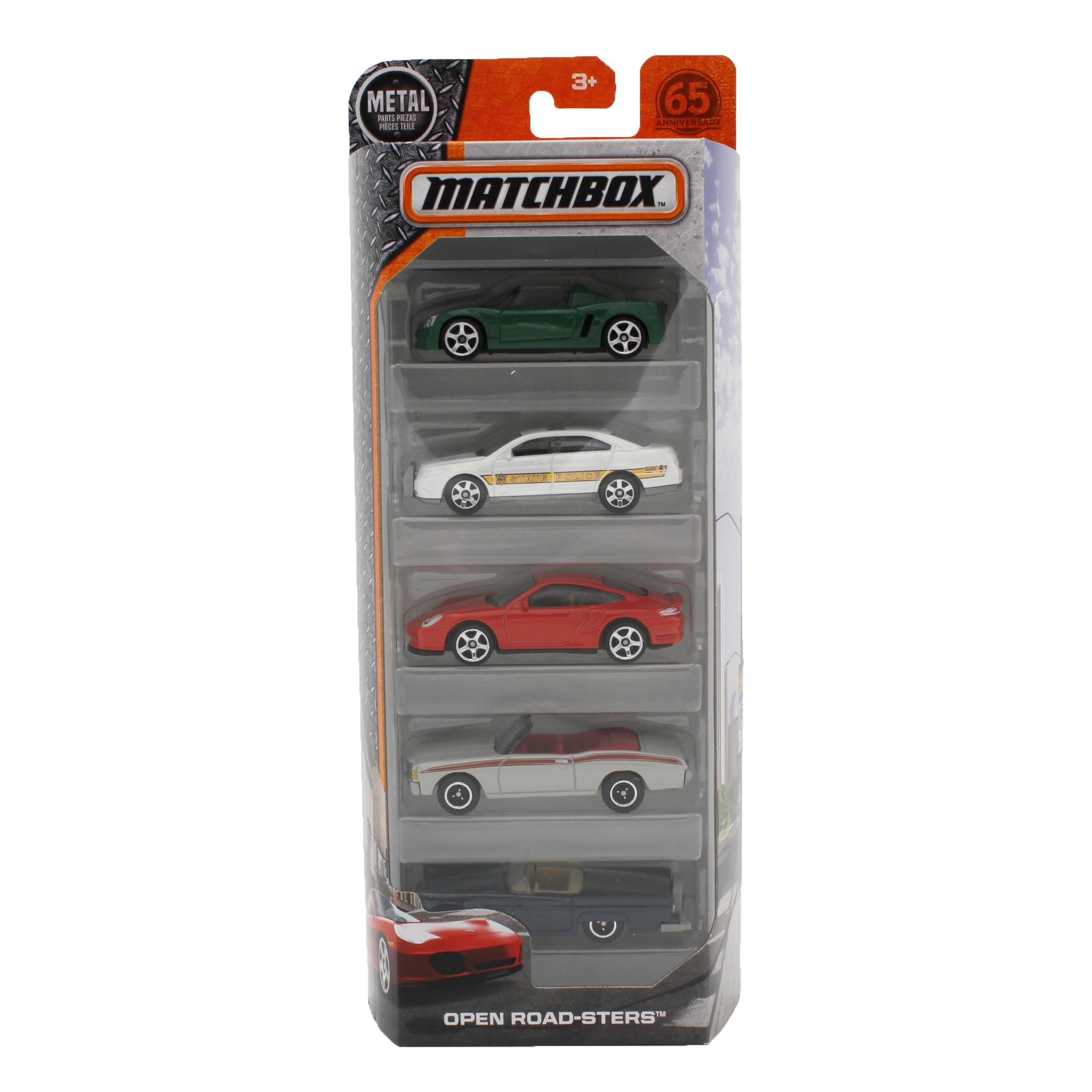 Matchbox Open Road-Sters 5-Pack by Mattel