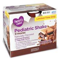 Parent's Choice S'mores Pediatric Shake, 8 fl oz, 6 Count
