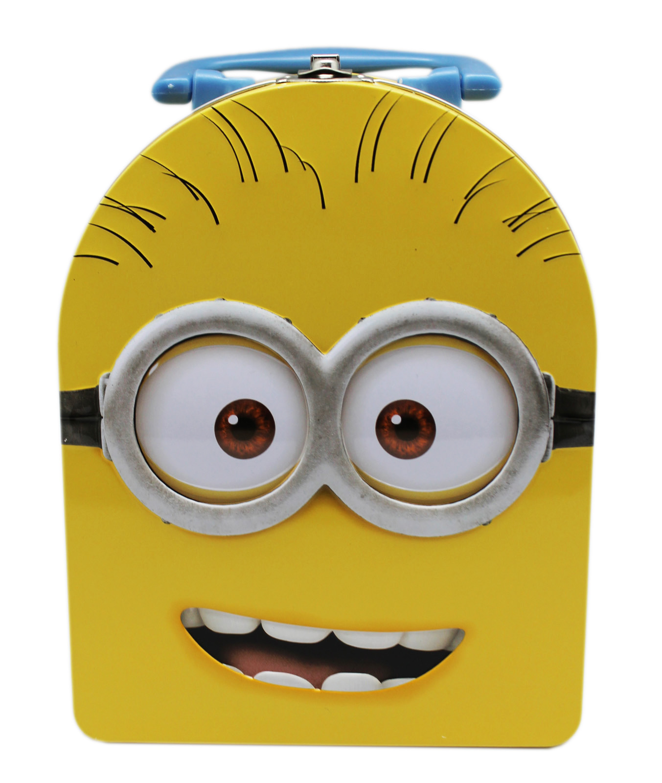 Minions Bob Yellow Colored Small Kids Tin Lunch Box  sc 1 st  Walmart : metal lunch box walmart - Aboutintivar.Com