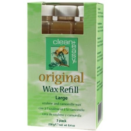 Clean + Easy Large Original Wax Refill- 3 pk, made of best qualify raw material By Clean
