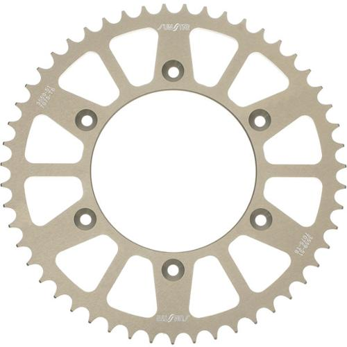Sunstar Aluminum Works Triplestar Rear Sprocket 46 Tooth Fits 00-12 Kawasaki KX65
