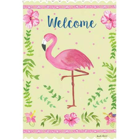 Premier Coastal Decor (Premier Garden Flag- Coastal Flamingo )
