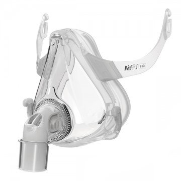 ResMed AirFit™ F10 Full Face Frame (Resmed Airfit F10 Full Face Mask With Headgear)