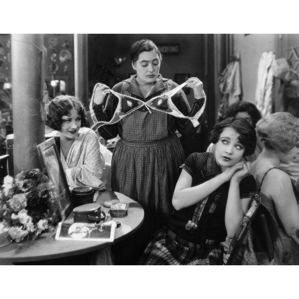 Silent Film Still Woman By Granger: Silent Still: Showgirls./Nsilent Film Still. 'Sally, Irene