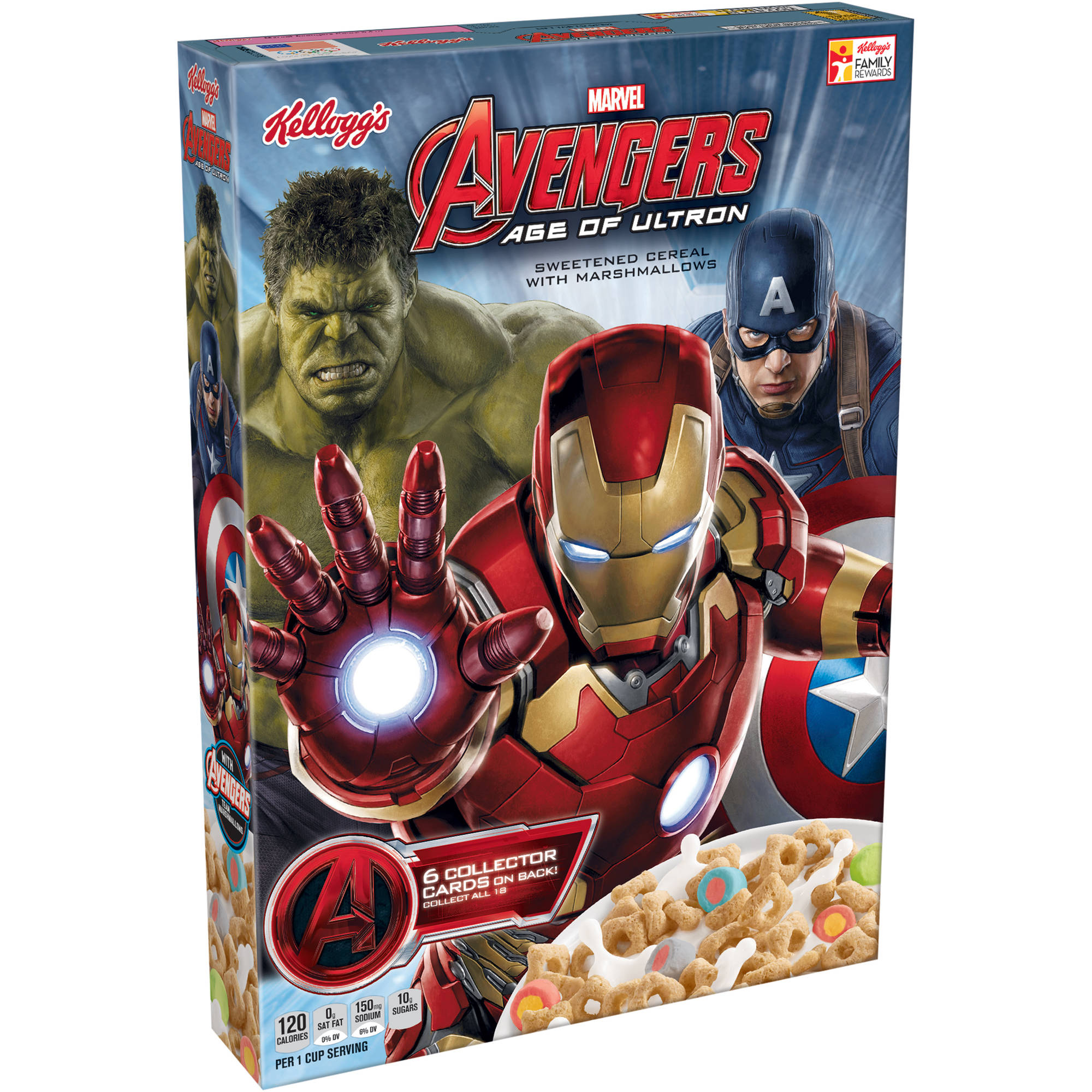 Kellogg's Marvel Avengers Age of Ultron Cereal, 8.4 oz