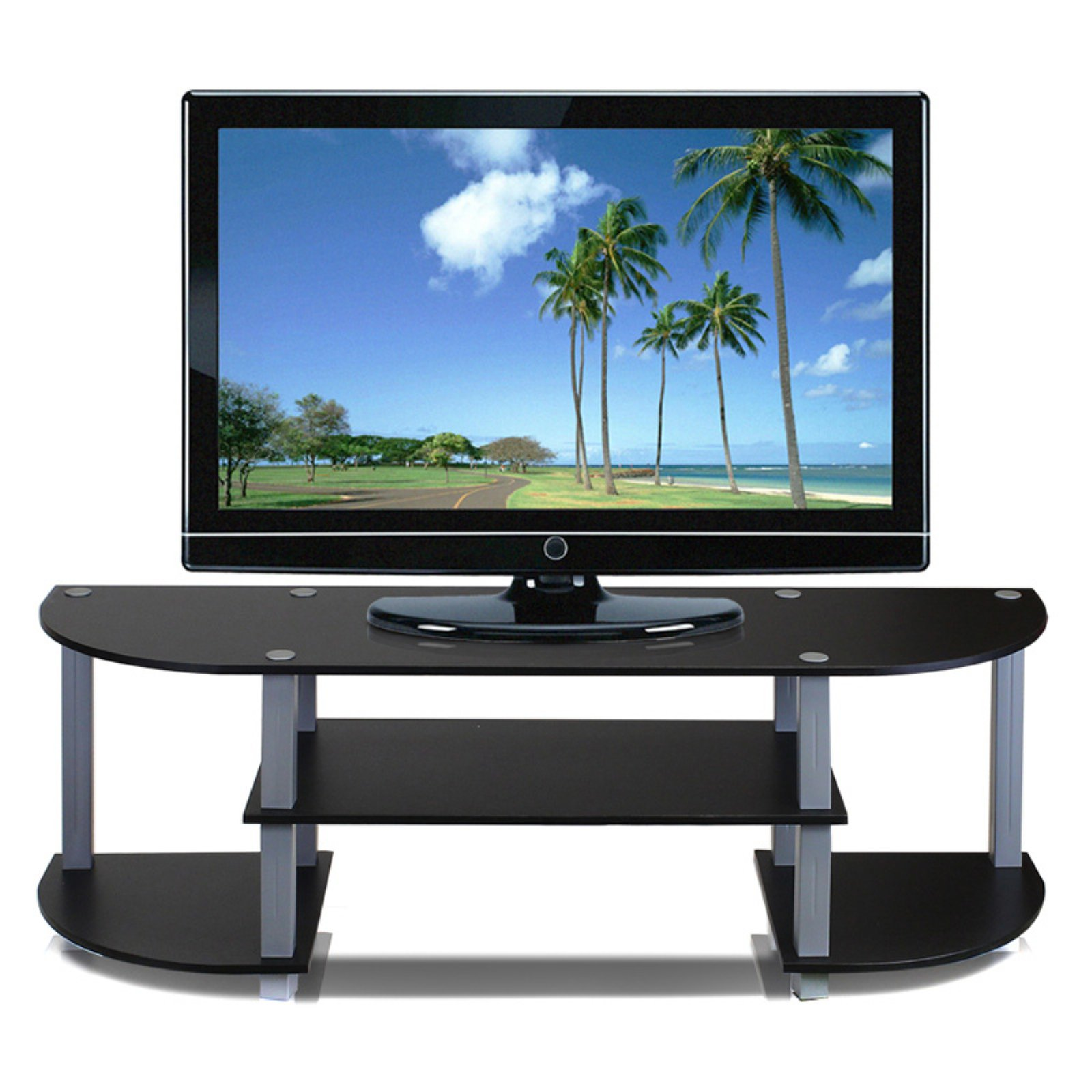 Furinno 11058 Turn S Tube Wide TV Stand Entertainment Center, Multiple  Colors