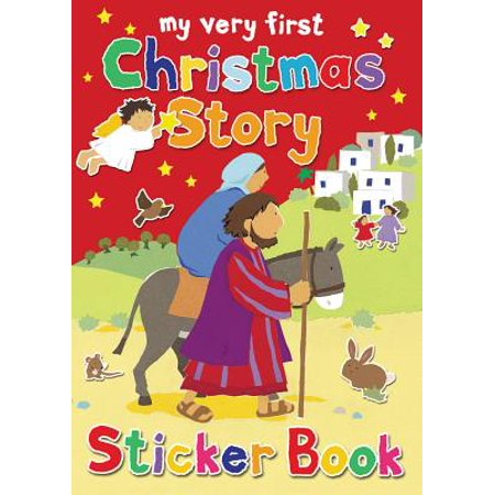My Very First Christmas Story Sticker Book for $<!---->
