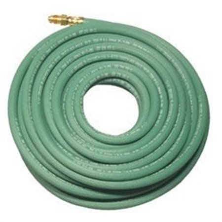 Best Welds Hose 1/4X1-GRN-25-ARGON BW 1/4 X 25-IGF SINGLE GREEN