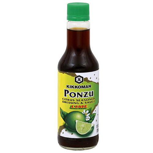 Kikkoman Citrus Seasoned Ponzu Lime Dressing & Sauce, 10 oz (Pack of 6) by Citrus