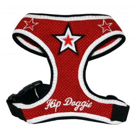 Hip Doggie HD-6RMST-L Large Red Super Star gilet harnais - image 1 de 1