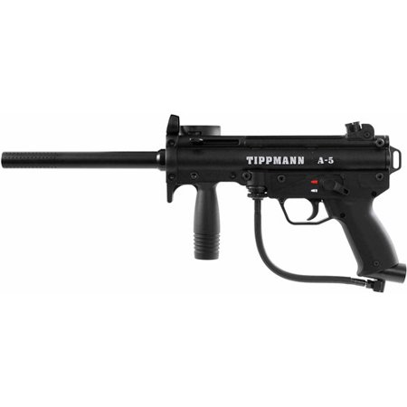 Tippmann A5 Paintball Gun Marker with Cyclone Feed and Response Trigger