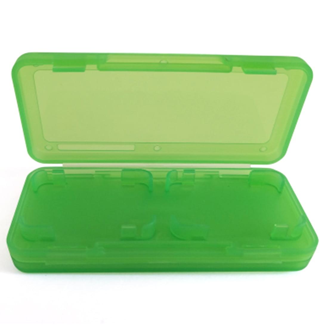 Indigo7 Authorized Nintendo Switch Game Card Hard Plastic Storage Protector Case Holds 4 - Green